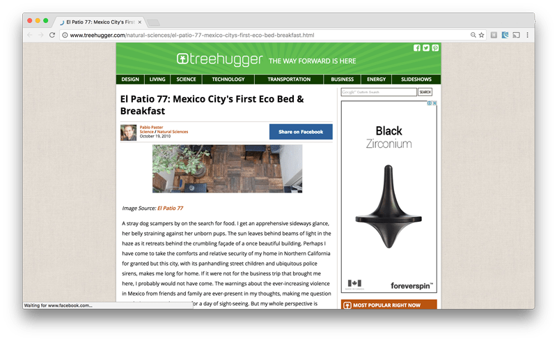 Blog Treehugger