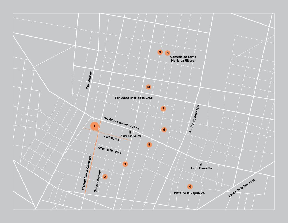 Mapa Patio77